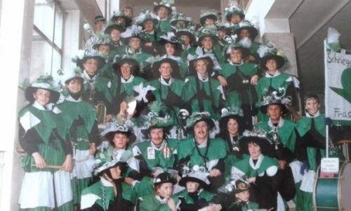 """1989 bis 1991 """"Schneggahüsler"""""""
